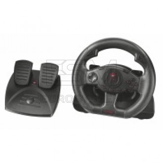 Манипулятор руль TRUST GXT 580 vibration feedback racing wheel
